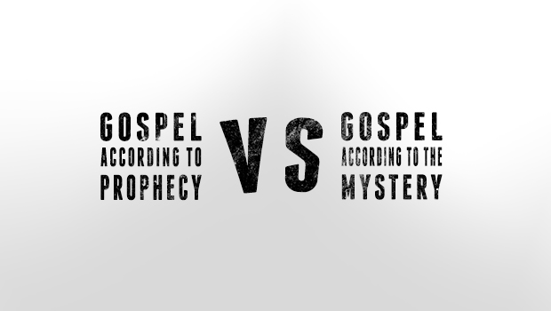 Prophecy VS the Mystery